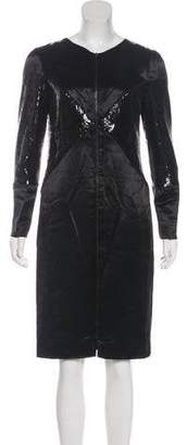 Chanel Embellished Satin Dress