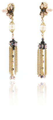 Erickson Beamon Ingenue Fringe Earrings