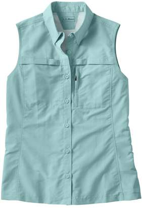 L.L. Bean L.L.Bean Women's Tropicwear Shirt, Sleeveless