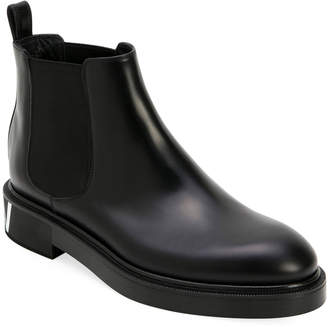 Valentino Garavani Men's Leather Chelsea Boots