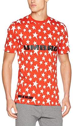 House of Holland Men's Umbro Plastisol Star T-Shirt Casual Shirt,Medium
