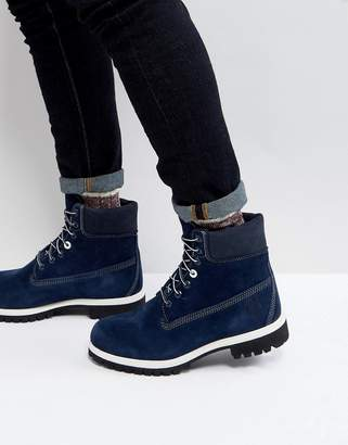 Timberland Classic 6 Inch Suede Boots