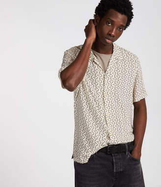 AllSaints Notes Short Sleeve Shirt