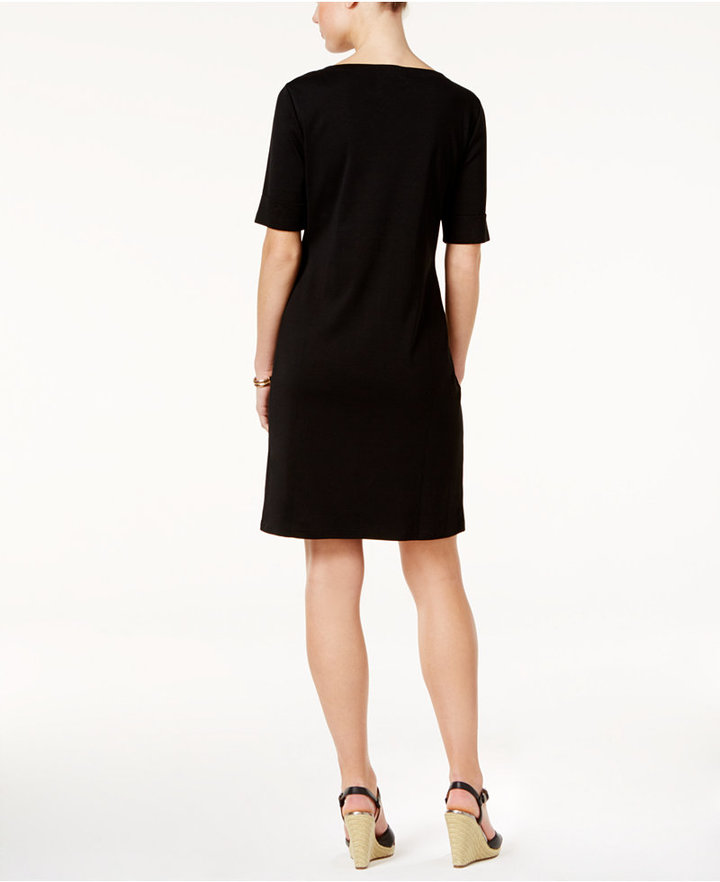 Karen Scott T-Shirt Dress, Only at Macy's 8
