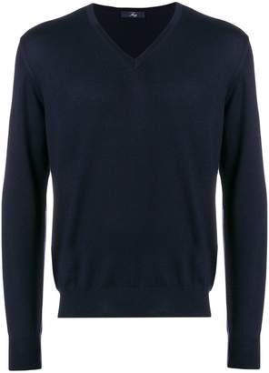 Fay V neck sweatshirt