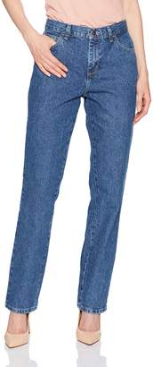 Lee Women's Missy Relaxed Fit All Cotton Straight Leg Jean, aero