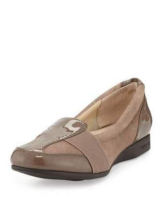 Taryn Rose Taurus Suede Comfort Slip-On, Chocolate $145 thestylecure.com