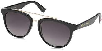 Betsey Johnson Women's Grace Browbar Square Sunglasses