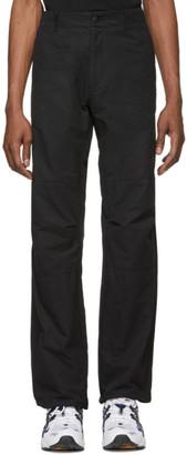 Resort Corps Black Branded Combat Trousers