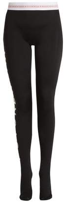 Swarovski Marine Serre - X Futurewear Jersey Leggings - Womens - Black