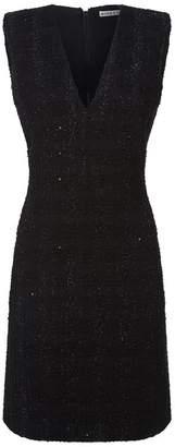 Alice + Olivia Adelaide Tweed Fil Coupé Dress