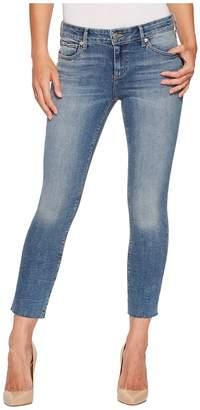 Lucky Brand Lolita Crop Cut Hem Jeans in Sunbeam Women's Jeans