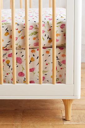 Little Unicorn Berry & Bloom Crib Skirt $34 thestylecure.com
