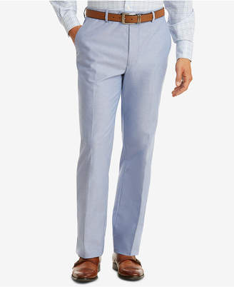 Tommy Hilfiger Closeout! Men's Modern-Fit Th Flex Stretch Blue Chambray Suit Pants