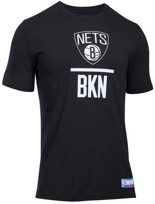 Under Armour Men's Brooklyn Nets Lockup T-Shirt