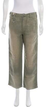 Ralph Lauren High-Rise Linen Pants w/ Tags