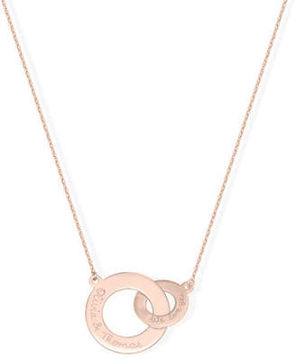Merci Maman Personalized Intertwined Necklace
