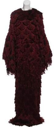 Christian Siriano 2017 Fringe Gown