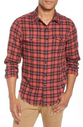 Frame Slim Fit Western Shirt