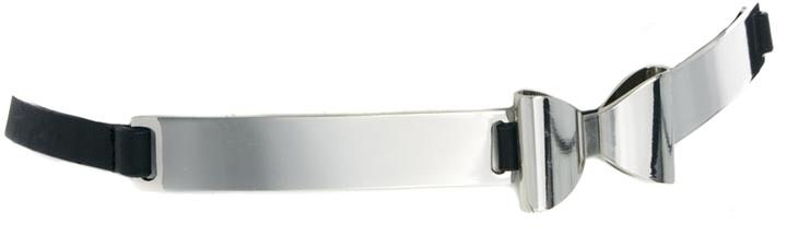 Asos Metal Plate Bow Waist Belt