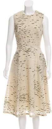 Lela Rose Matelassé Sleeveless Dress w/ Tags