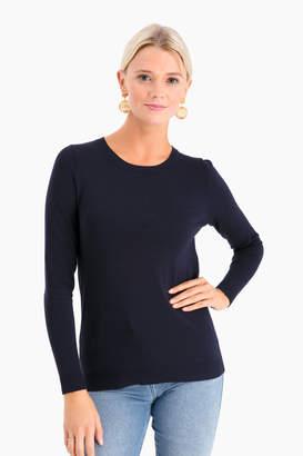 525 America Classic Navy Carolina Crewneck Sweater