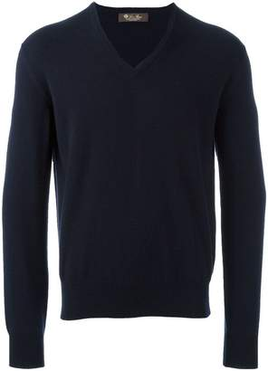 Loro Piana v neck jumper