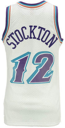 Mitchell & Ness Men's John Stockton Utah Jazz Hardwood Classic Swingman Jersey