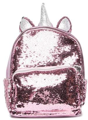 Curls & Pearls Sequin Small Unicorn Backpack (Little Girls & Big Girls)