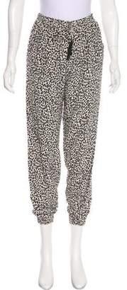Max Mara Printed Silk Pants