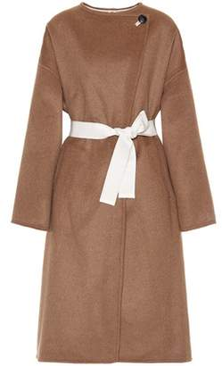 Isabel Marant Fargo wool and cashmere-blend coat