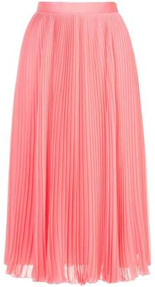 H Beauty&Youth pleated midi skirt