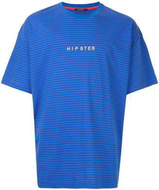 GUILD PRIME striped Hipster T-shirt