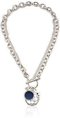 GUESS Toggle Charms Chain Necklace