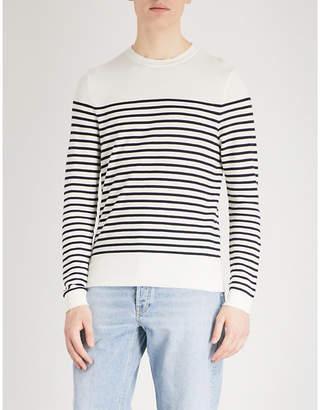 Sandro Sailor-stripe cotton jumper