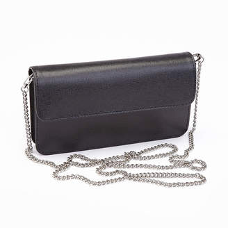 Royce Leather Royce Chic RFID Blocking Women's Wristlet Convertible Cross Body Bag in Genuine Leather