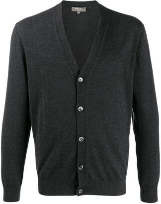 N.Peal Gents fine-knit cardigan