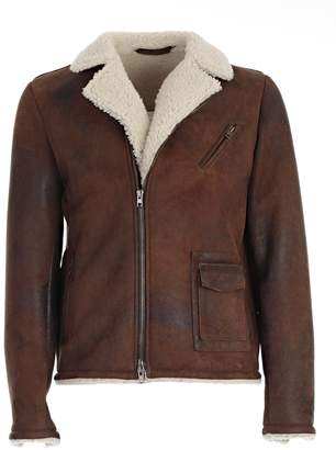 Salvatore Santoro Shearling Leather Jacket