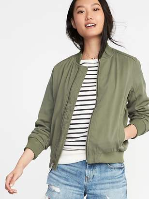 Old Navy Lightweight Twill Bomber Jacket for Women