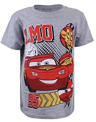 Disney Pixar Boy's Chevron Shirt, (Sport Grey), (Size: X-Small)