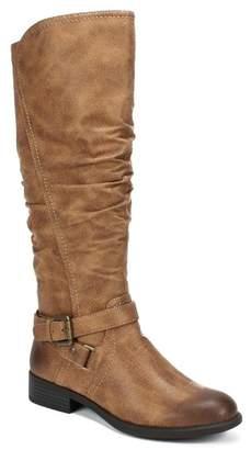 White Mountain Layton Faux Leather Riding Boot