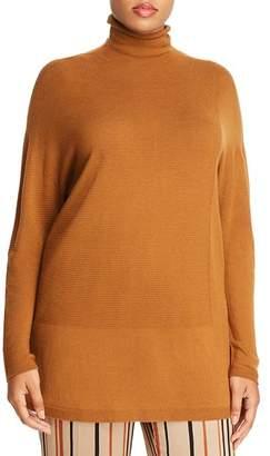 Marina Rinaldi Autunno Ribbed-Detail Sweater
