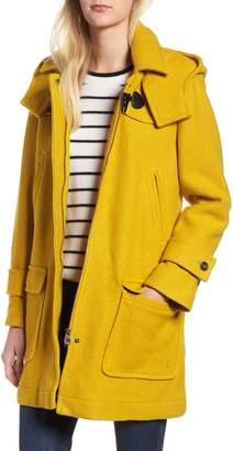 Joules Wool Blend Duffle Coat
