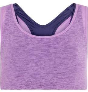 Nike Essentials Layered Stretch-Jersey Sports Bra