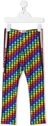 Gucci rainbow star leggings