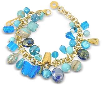 Antica Murrina Marilena Murano Glass Marine Charms Bracelet $98 thestylecure.com