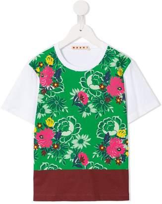 Marni floral print T-shirt