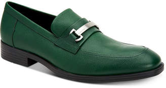 Calvin Klein Men's Craig Scotch Grain Leather Loafers Men's Shoes