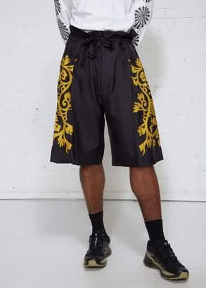 SASQUATCHfabrix. Hi-waist Silk Shorts