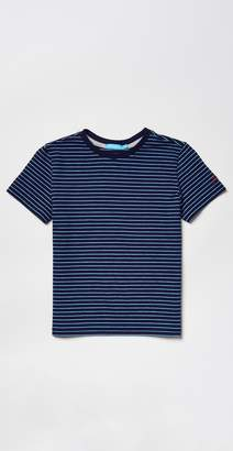 J.Mclaughlin Boys' Andover Tee in Blazer Stripe